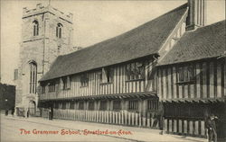 The Grammar School Postcard