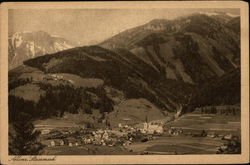 Steiermark with mountains