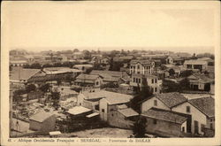 French West Africa - Panorama of Dakar