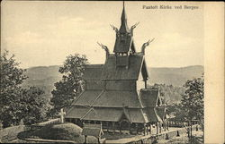 Fantoft Kirk ved Bergen (Fantoft Stave Church)