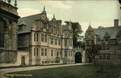 View of Trinity College Postcard