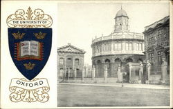 University of Oxford Postcard