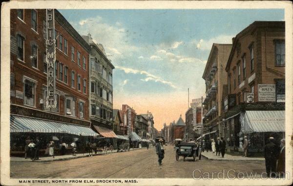 Main Street Brockton, MA