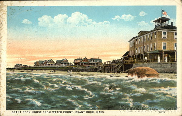 Brant Rock House from Water Front Massachusetts