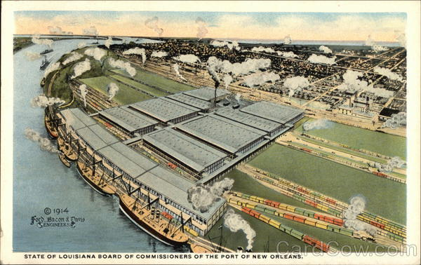 Public Cotton Warehouses and Terminal of the Board of Commissioners of the Port of New Orleans Louisiana