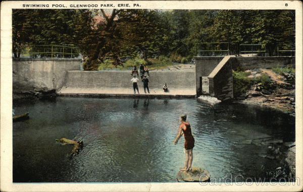 Swimming Pool, Glenwood Park Erie Pennsylvania