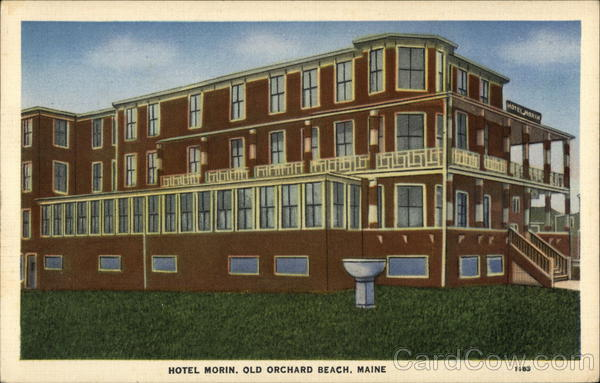 Hotel Morin and Grounds Old Orchard Beach Maine