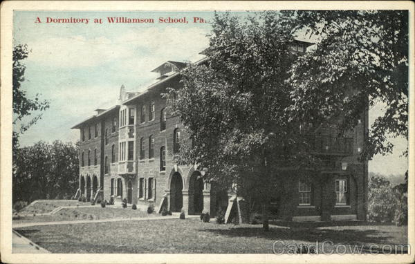 A Dormitory at Williamson School Media Pennsylvania