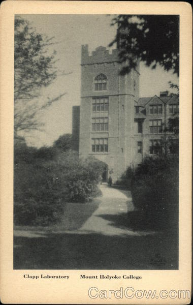 Clapp Laboratory, Mount Holyoke College South Hadley Massachusetts