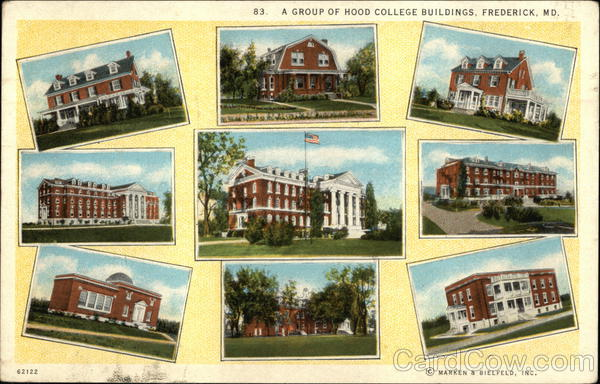 A Group of Hood College Buildings Frederick Maryland