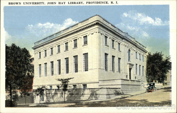 Brown University, John Hay Library Providence Rhode Island