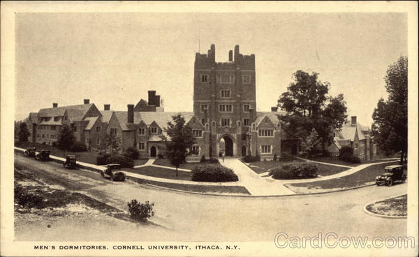 Cornell University - Men's Dormitories Ithaca New York