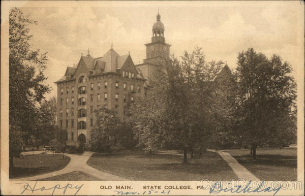 Old Main State College Pennsylvania