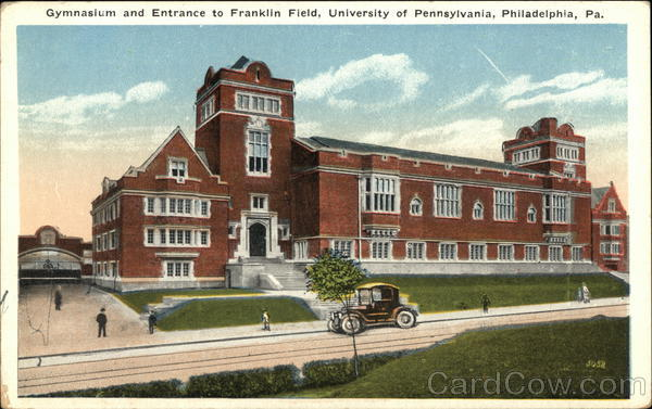 Gymnasium and Entrance to Franklin Field, University of Pennsylvania Philadelphia