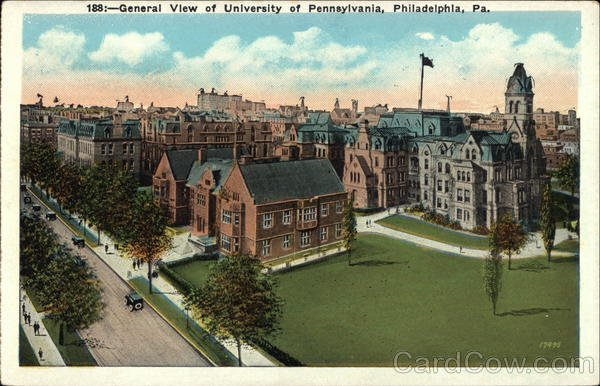 University of Pennsylvania - General View Philadelphia