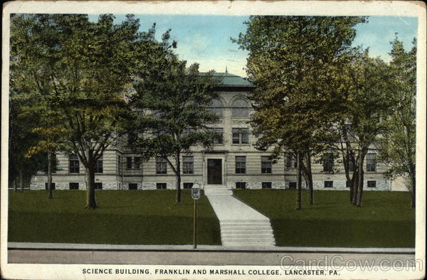 Science Building, Franklin and Marshall College Lancaster Pennsylvania