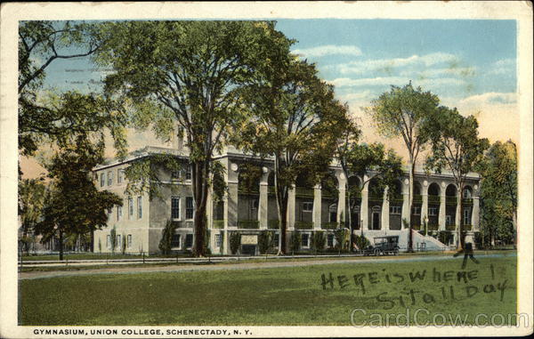 Gymnasium, Union College Schenectady New York