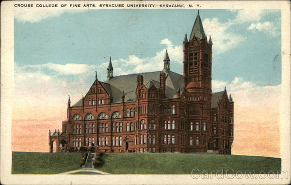 Crouse College of Fine Arts, Syracuse University New York