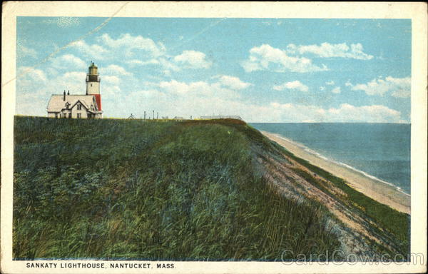 Scenic View of Sankaty Lighthouse Nantucket Massachusetts