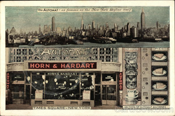 The Automat As Famous As the New York Skyline Itself