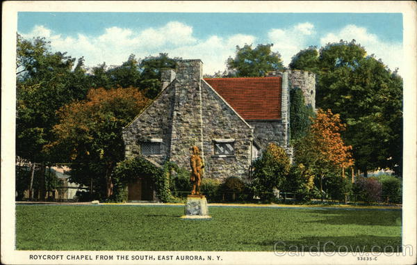 Roycroft Chapel from the South East Aurora New York