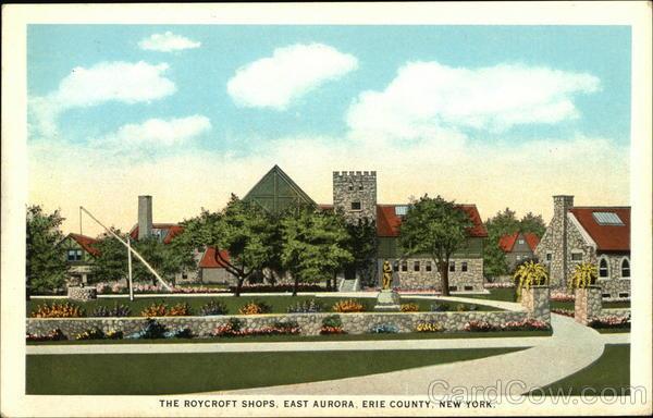 The Roycroft Shops in Erie County East Aurora New York