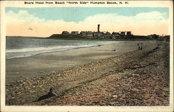 Boars Head from Beach North Side Hampton Beach New Hampshire