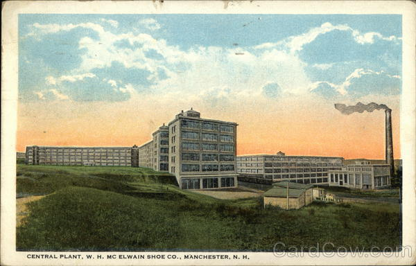 Central Plant, WH McElwain Shoe Company Manchester New Hampshire