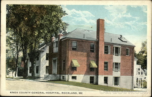 Knox County General Hospital Rockland Maine
