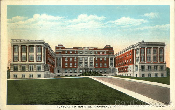 Homeopathic Hospital Providence Rhode Island