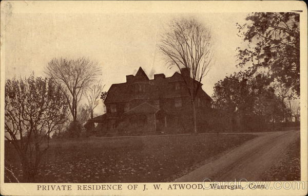 Private Residence of JW Atwood Wauregan Connecticut
