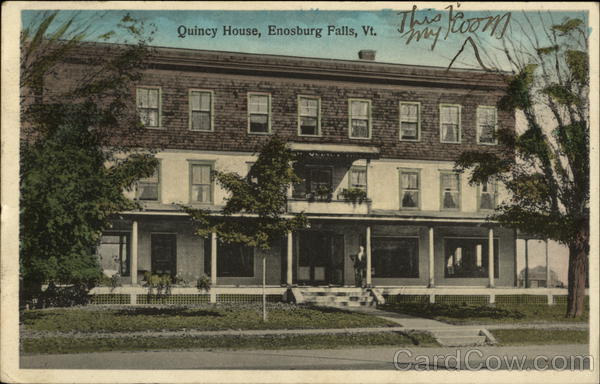 Street View of Quincy House Enosburg Falls Vermont
