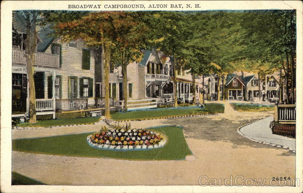 Broadway Campground Alton Bay New Hampshire