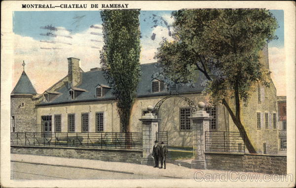 Street View of Chateau De Ramsay Montreal Canada Misc. Canada
