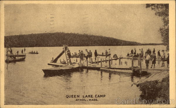 Queen Lake Camp Athol Massachusetts
