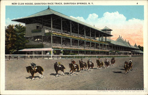 New Club House, Saratoga Race Track Saratoga Springs New York