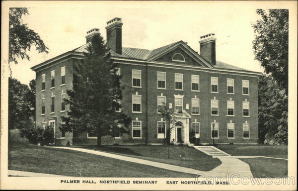 Palmer Hall, Northfield Seminary East Northfield Massachusetts