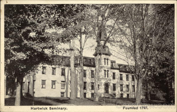 Hartwick Seminary, Founded 1797 Milford New York
