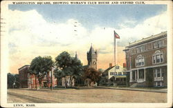 Washington Square - Woman's Club House and Oxford Club