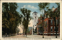 Walnut Street - Congregational Church and Grammar School