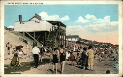 Ocean Grove, Mass. On a Hot Day