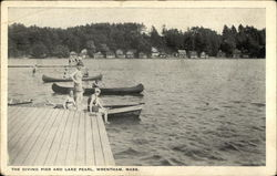Diving Pier, Lake Pearl