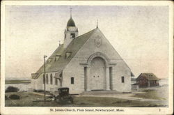 St James Church at Plum Island