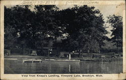 View from Knapp's Landing, Vineyard Lake