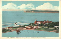 Hotel del Coronado and Point Loma