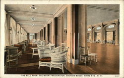 The Ball Room, The Mount Washington, White Mts.