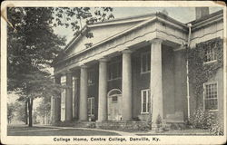College Home, Centre College
