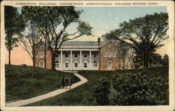 Community Building, Connecticut Agricultural College