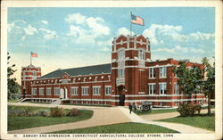 Connecticut Agricultural College - Armory and Gymnasium