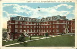 Western Maryland College - Blanche Ward Hall